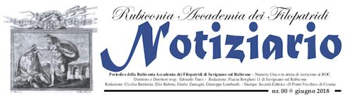 Novità! Il Notiziario dell'Accademia