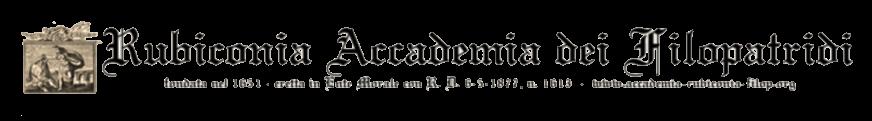 Rubiconia Accademia dei Filopatridi